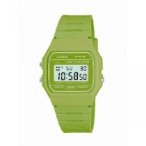 Casio Digital Watch with Green Strap