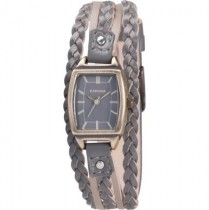 Kahuna Ladies Leather Cuff Strap Watch