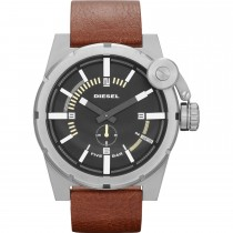 Diesel Gents Advanced Leather Strap Watch