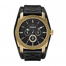 Fossil Gents Leather Strap Watch
