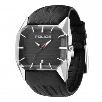 Police Gents Vector Leather Strap Watch