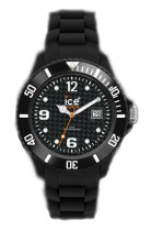 Ice-Watch Black Silicone Small