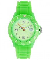 Ice-Watch Green Silicone Unisex