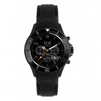 Ice-Watch Chronograph Leather Strap Watch